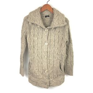 Dex Chunky Cable Knit Soft Cardigan Sweater